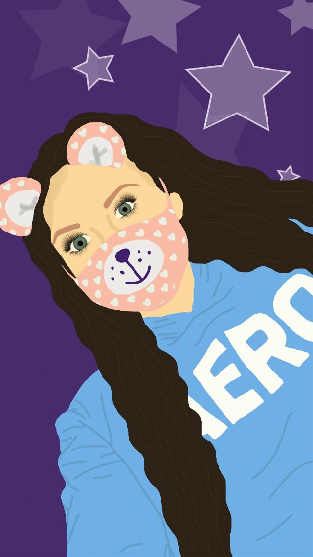 cartoon edit of my profile pic🤙🏻😝