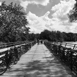 blackandwhite photography bridge bikes freetime pcblackandwhite pcworldphotoday