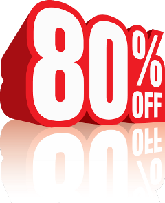 80%off discount freetoedit 80