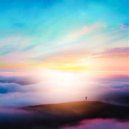 imagination_infocus creative japan nature sky freetoedit