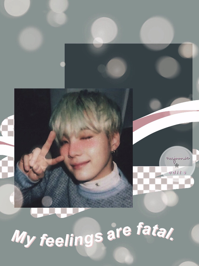 My feelings are fatal...    WOAH A EDIT?? yeah, so uh my photos are not fixed y e t but i still made this cute edit. I didnt even try for this one, i got bored with it. Plus requests are closed again but my contest is still going make sure to join that.    Yoongi picture from google/ blush sticker isn't mine/ credit to owner.  -nxmjoonie   #yoongi #bts #army #kpop