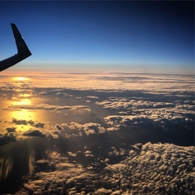 #freetoedit #sky #airplane #norway #sea #nature #sun #takenbyme