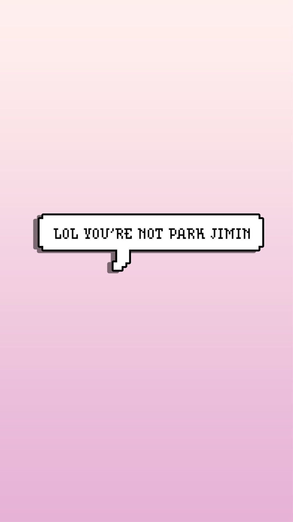 Park Jimin Bts Wallpaper Btswallpaper Pink Ombre