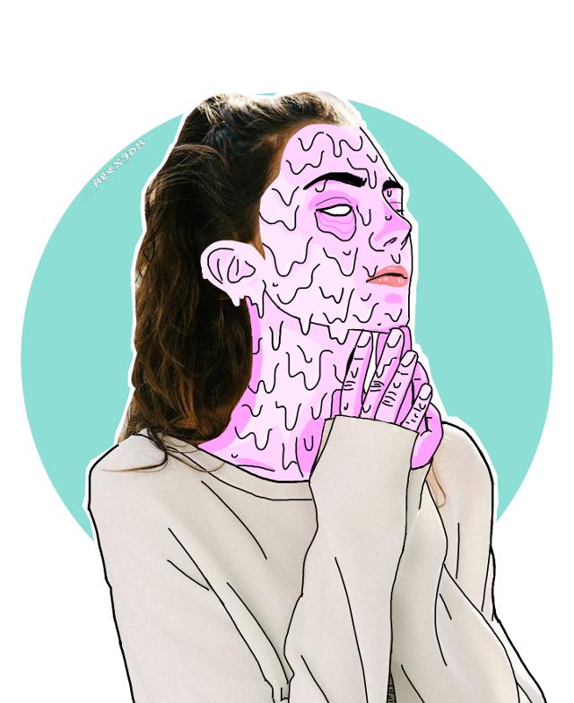 #grimeart #grimeeffect #grimeface #grime #dijitalart #draw #drawing #mydrawing #slime #pink #pastel #girl #ameliazadro #interesting #edit #editrandom #freetoedit #picsart [💖] . . 🌸| 18 : 58 |🌸