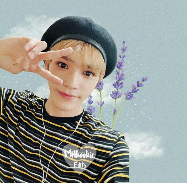 #freetoedit -🌸💨 Lee Taeyong ♡ - #leetaeyong #Nct #Editkpop #picsart #taeyongedit