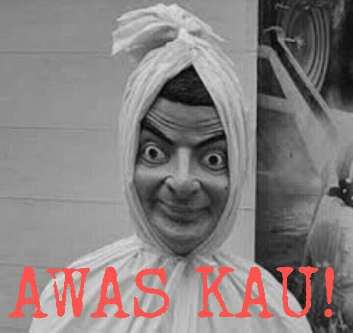 funny meme pocong mrbean image by kiprangnovel323