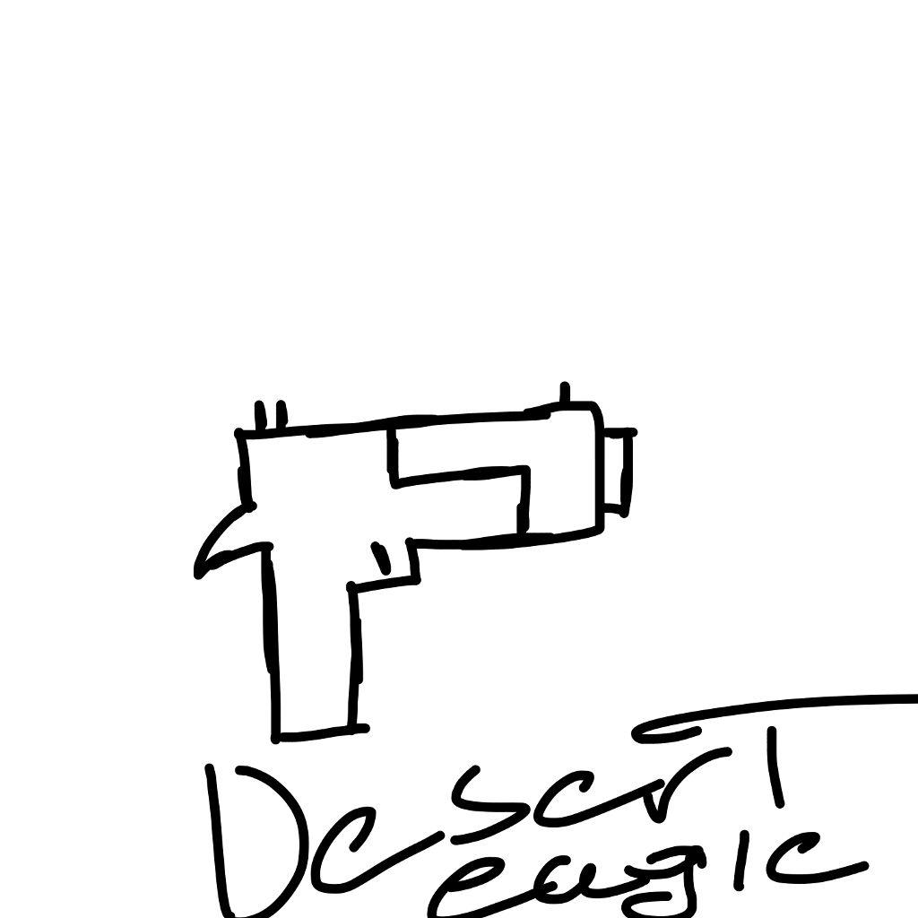#freetoedit #remixit #gun #deserteagle #blackandwhite #text #writing #drawing
