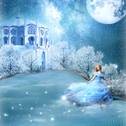 freetoedit fantasy fairytail surreal bluemoon