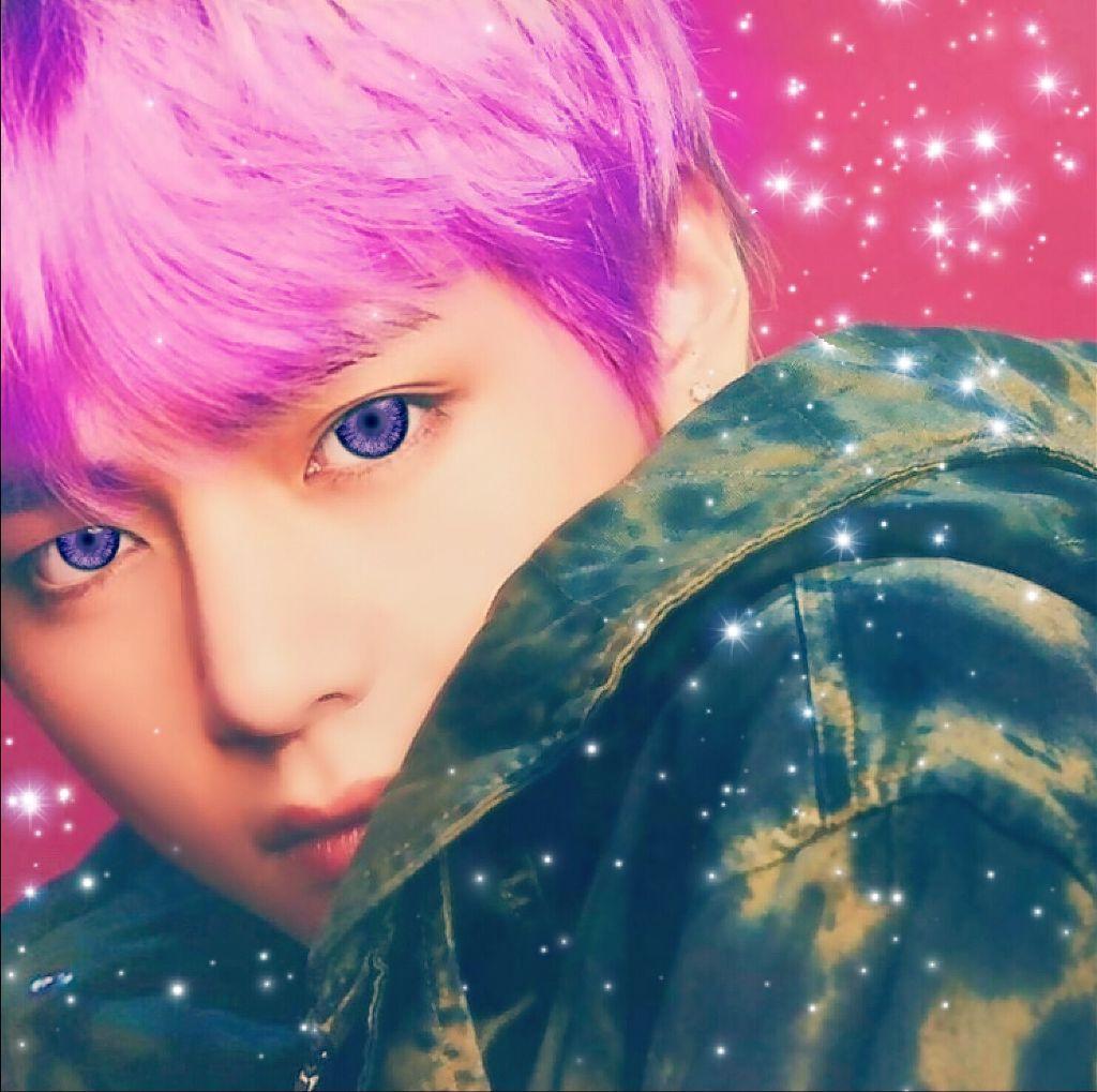 #taehyung #purpleeyes #animetae #freetoedit