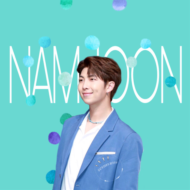 Namjoon. #freetoedit #kimnamjoon #namjoon #rm #bts #bangtanboys #beyondthescene #blue #white