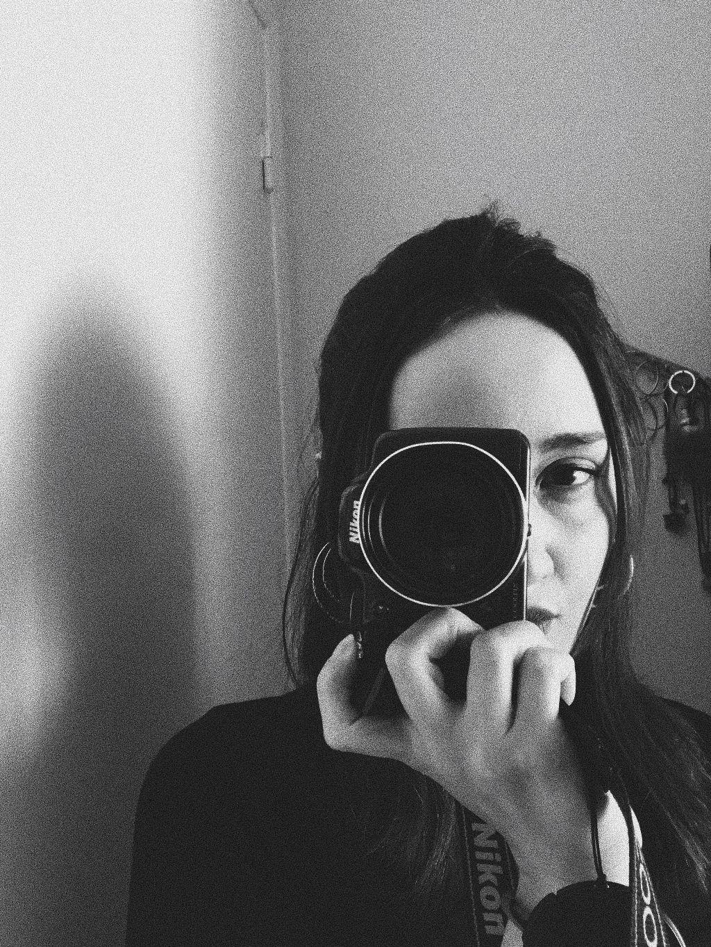 #freetoedit #photography #camera #girl #blackandwhite #grain