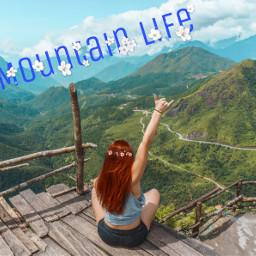 irctraveler traveler freetoedit mountainlife