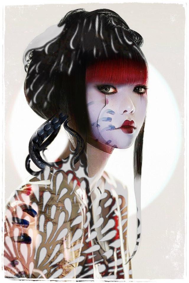 #freetoedit #geisha 👾