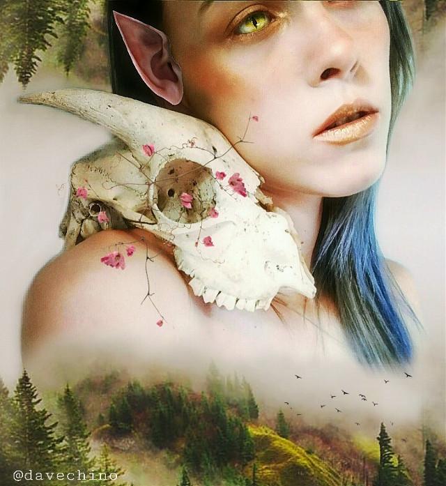 #doubleexposure #womanportrait #nature #landscape #fairy @freetoedit @picsart #surreal #surrealist #conseptual #myedit