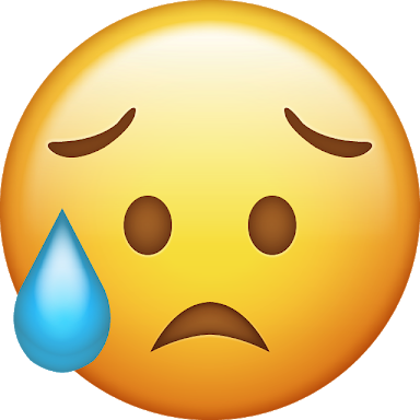 emoji sad triste preocupado worried freetoedit...