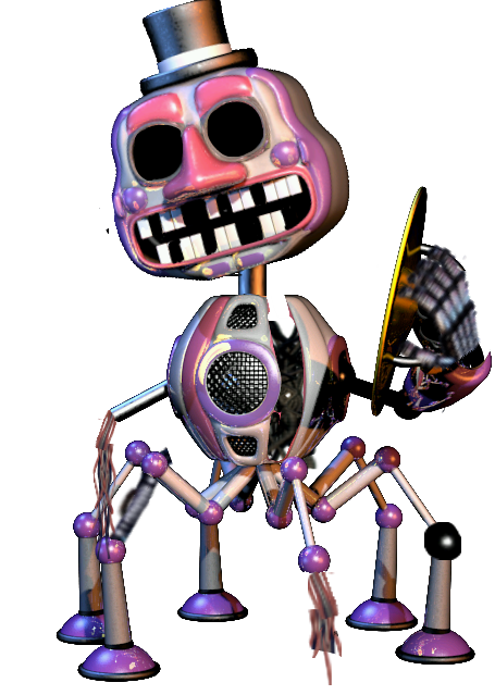Fnaf Fnaf6 Withered Musicman Witheredmusicman