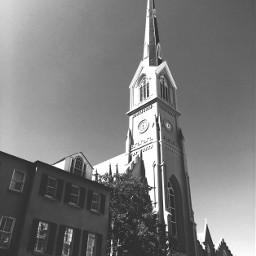 church blackandwhite architecture