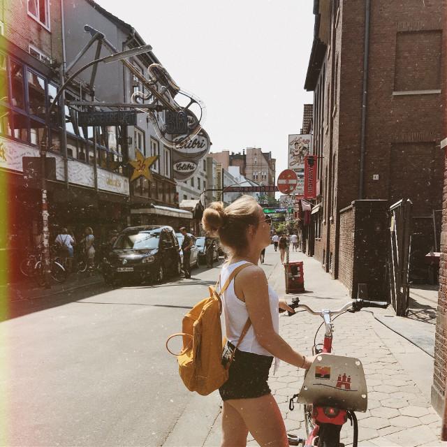 ☠️ #hamburg #moinmoin #nicecity #summer #fahrradtour #takearide #travel