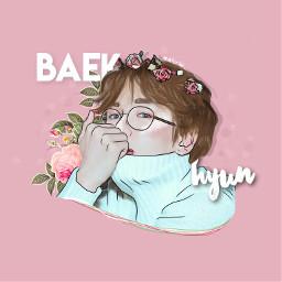 flowerspastelcontest raindrops baekhyun byunbaekhyun exo freetoedit