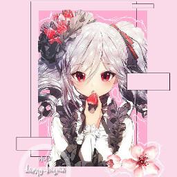 freetoedit anime girl cute