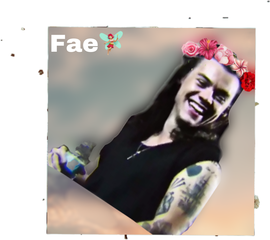 Harry Styles Flower Crown Sticker By Fae