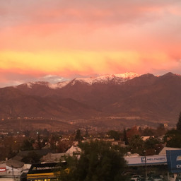 sunset sunsetview redsky redskynight santiagochile