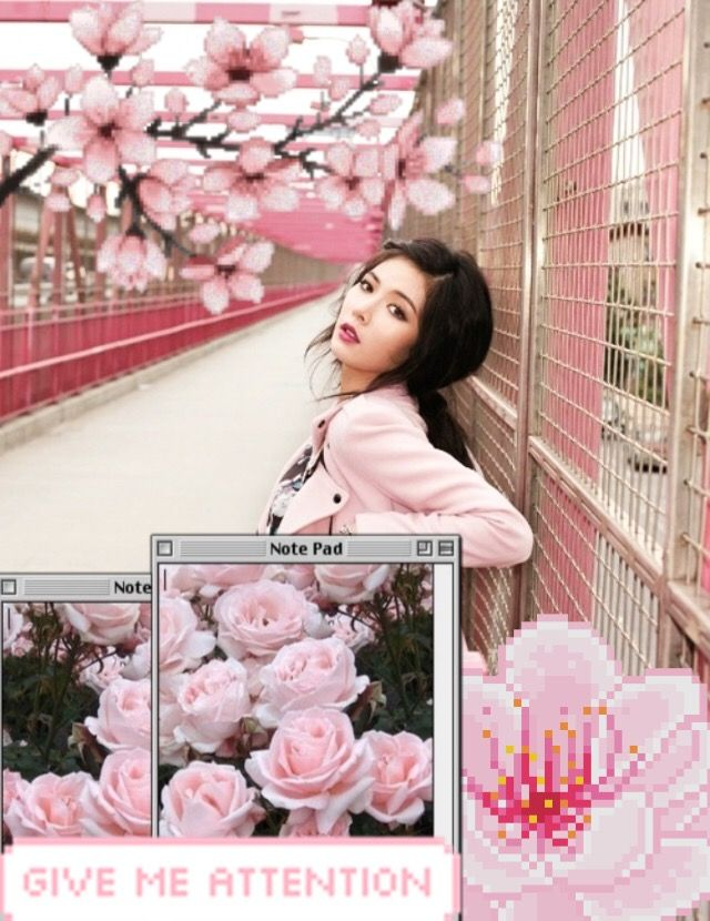 Freetoedit hyuna pixel cute pink flowers freetoedit hyuna pixel cute pink flowers mightylinksfo