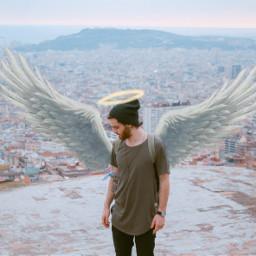 freetoedit angel stairway heaven