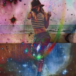 freetoedit art interesting girl stars
