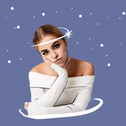 babyariel babyarieledit outlineart edit outline freetoedit