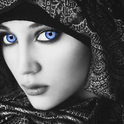 freetoedit blueeyes blue blackandwhite black