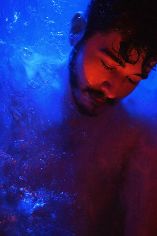instagram.com/kodavsky Perfect Blue  #freetoedit #photography #portrait #people #picsart #france #interesting #sea #pridemonth #water #night