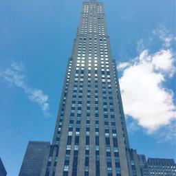rockefellercenter panorama newyorkcity newyork skyscraper