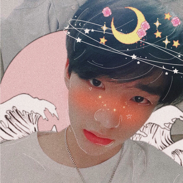 hyunjin - stray kids edit. i tried combining a softbot and outline edit and here is the outcome !! it came out really cute and i'll take a few suggestions for more in the comments.