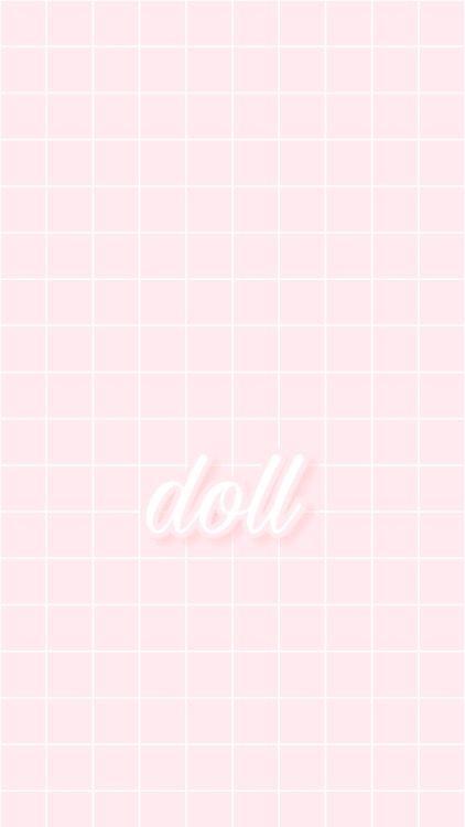 Aesthetic Grid Gridlines Gridbackground Pink Pastel Pastelpink Pinkaesthetic