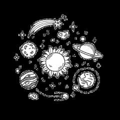 galaxy drawing freetoedit
