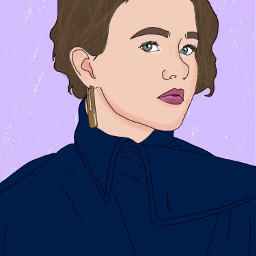 actress art digitalart digitaldrawing drawing