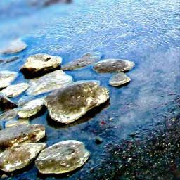 photography landscape travel rocks waterstream pcuniquerocks