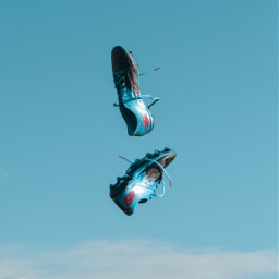 freetoedit boots sky objects flying