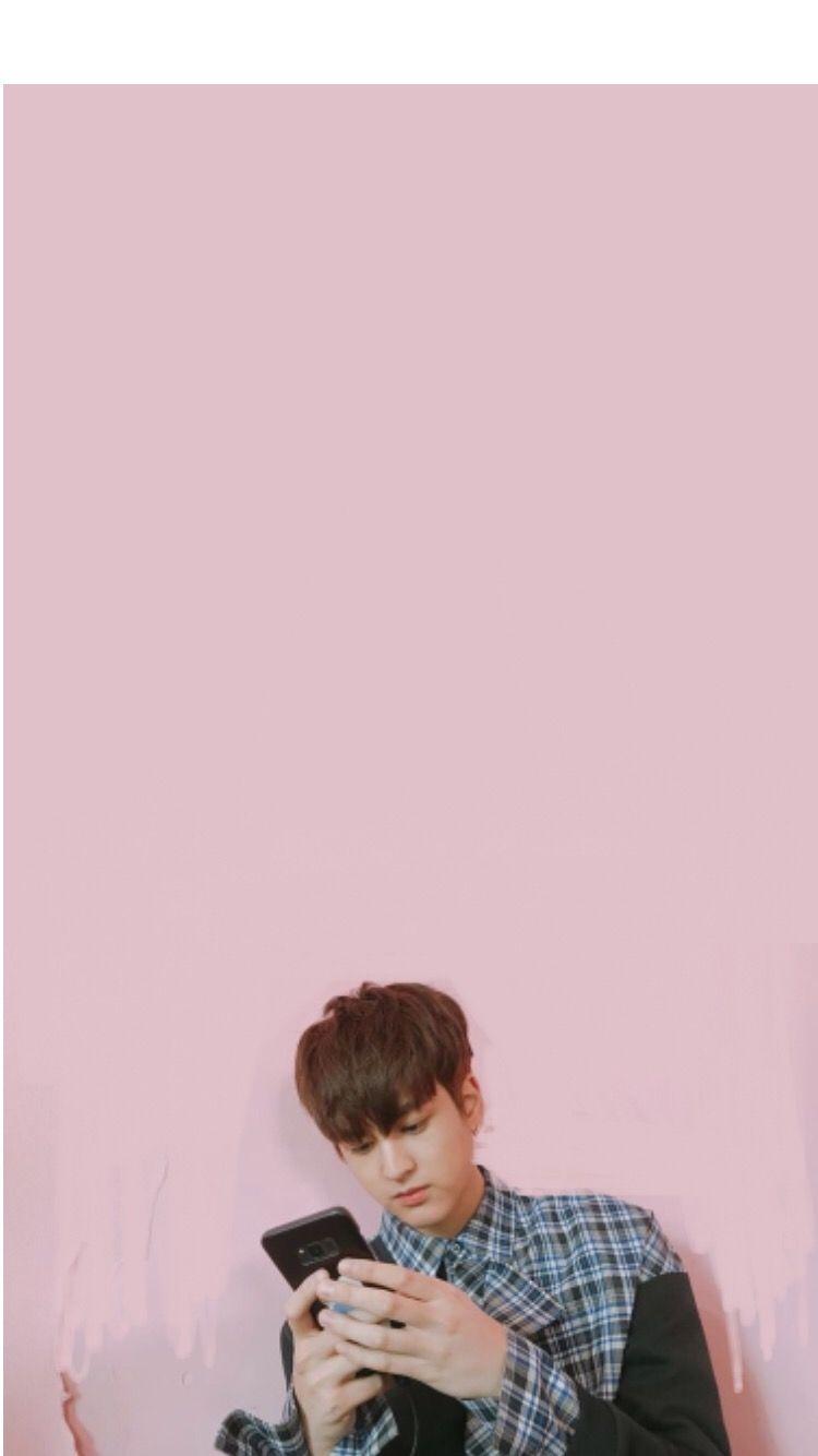 chanwoo ikon wallpaper phone image by citra amalia