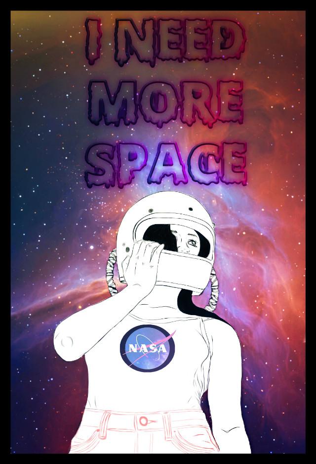 #remix #remixed #space #galaxy #nasa #explore #picsart #picsartremix #illustration #digitalart #digital #drawing #inspiration #quotes&sayings #femmevibes #introvert