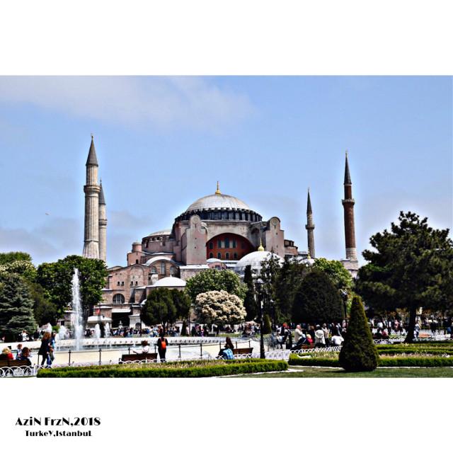 #freetoedit #istanbul #istanbulturkey #istanbulcity #mosque #haghiasophia #architectur #art #city #cityeleman #landmark