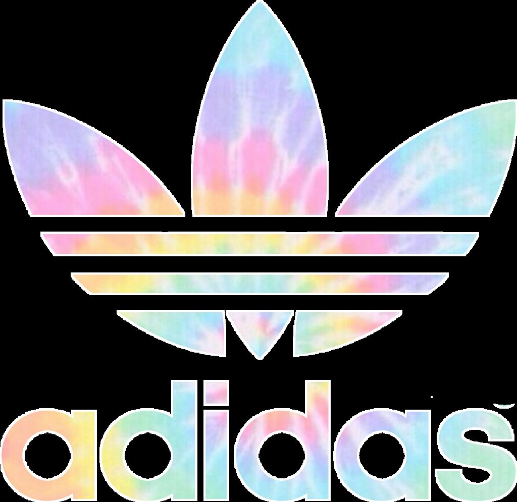 adidas logo rainbow freetoedit...