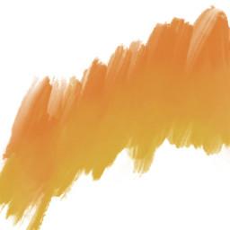 andysart gradient ombre orange yellow
