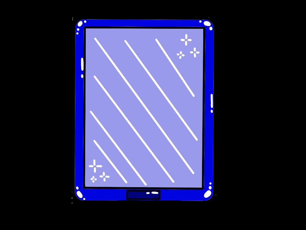 Ipad Drawing Sticker Blue Stars Aesthetic Blueaesthetic