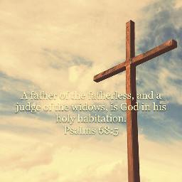 cross jesus christ clouds fathers