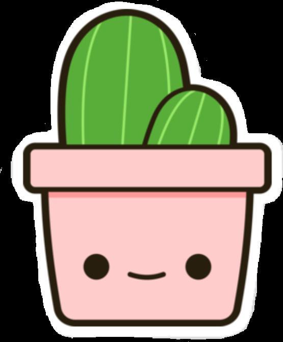 Planta Cactus Rosa Tumblr Kawaii Cute Random Lol Tumblr