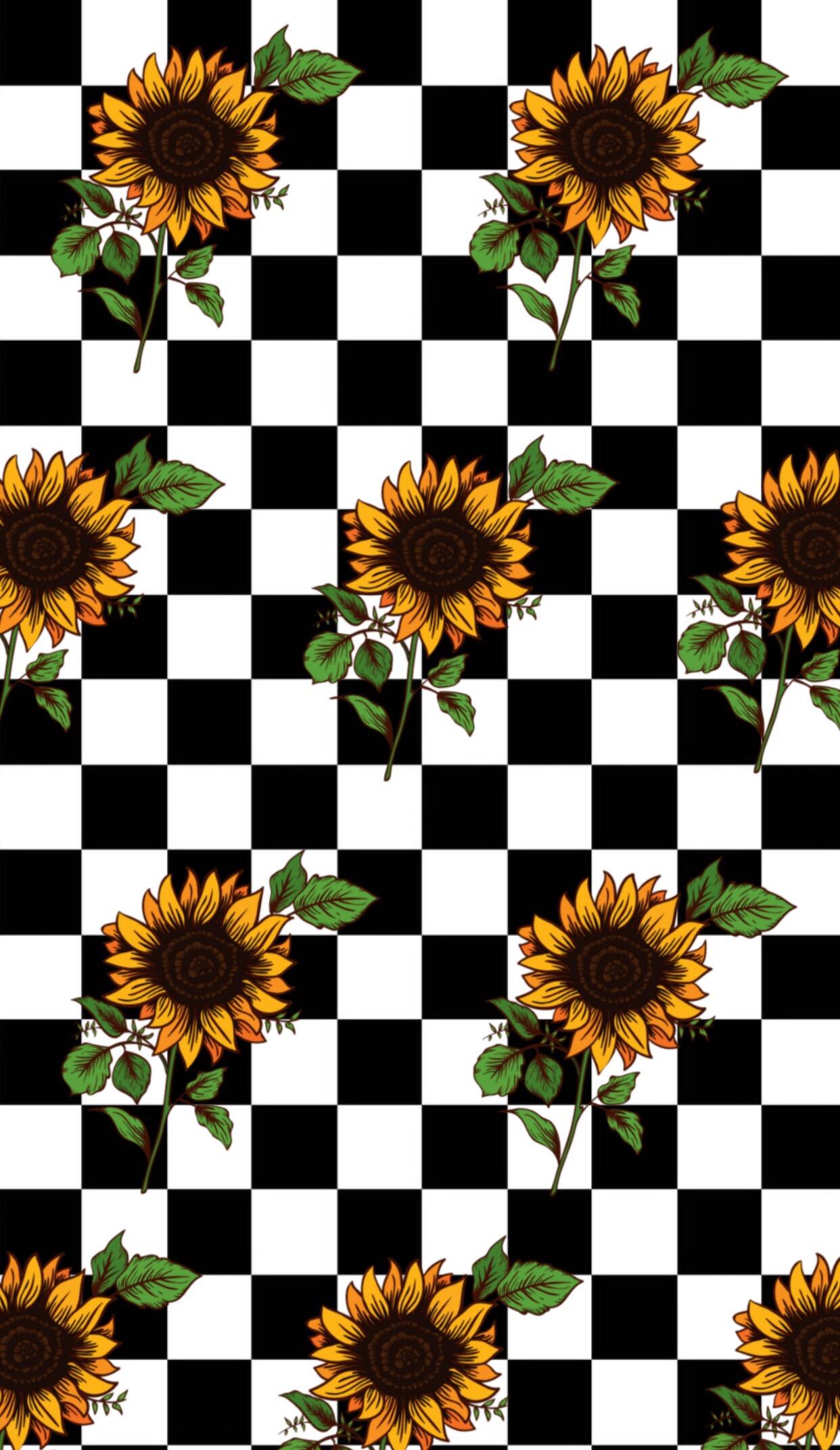 checkerboard vans wallpaper