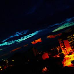 freetoeditsky night afternoon sky freetoedit