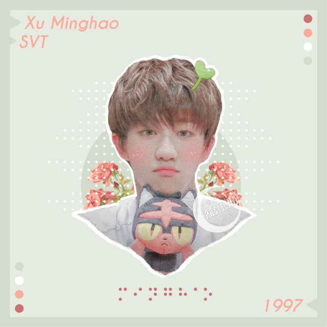 "─🍑🌱   ✭  ┆  ┆  ┆How are you all doing? :)  ┆  ┆  ✭   🌙 R E Q U E S T S A R E O P E N   ✭  ┆  ┆Minghao requested by @itis_dora   ┆I hope you like it~!!💓🌸  ┆  ✭   🌙 "" тαкє тιмє тσ ∂σ ωнαт мαкєѕ уσυя ѕσυℓ нαρρу ""  ┄credits┄ [🤵🏻] Minghao sticker: @seventeen_patrones  [🌷] Flowers: Google Images [⚄] Dots: @\jins-hope [⌨] Text: Phonto  #xuminghao #the8 #minghao #seventeen #svt  #minghaoedit #seventeenedit #kpopedit #17  #aesthetic #pastel #interesting #cute #peach"